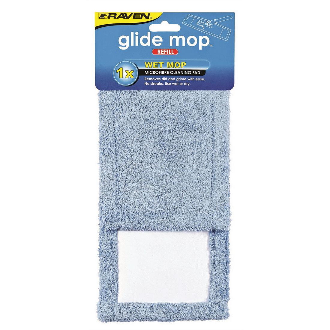Glide Mop Refill - Wet Microfibre 2511