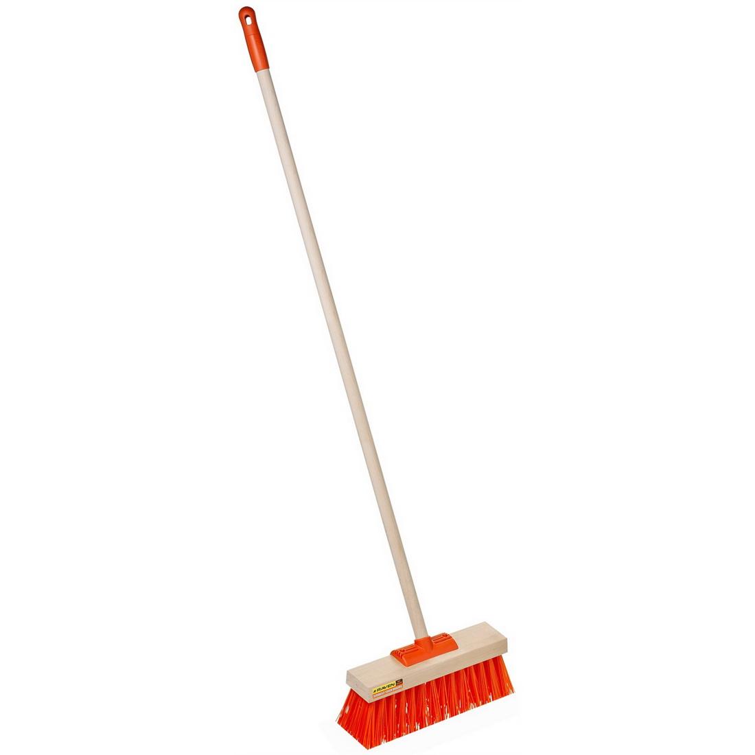 Hi Vis Yard Broom 355mm 8128B