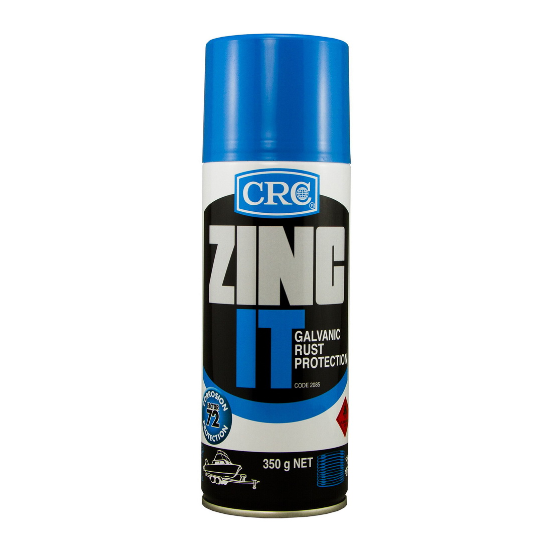 Ados Zinc It Aerosol Grey 350g 2085