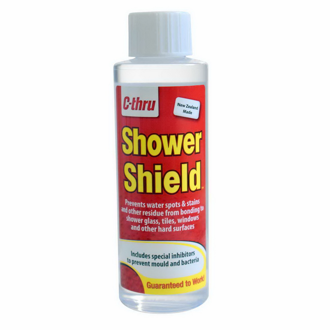 C-Thru Shower Shield 250 mL Bottle Clear SS250