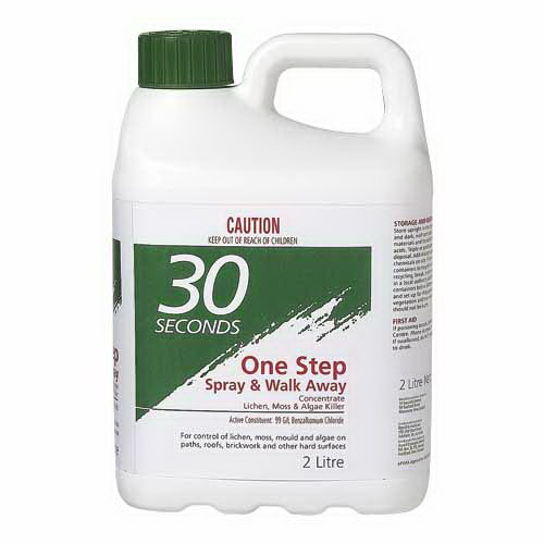 One Step Spray & Walk Away Lichen, Moss & Mould Remover 2L 09605