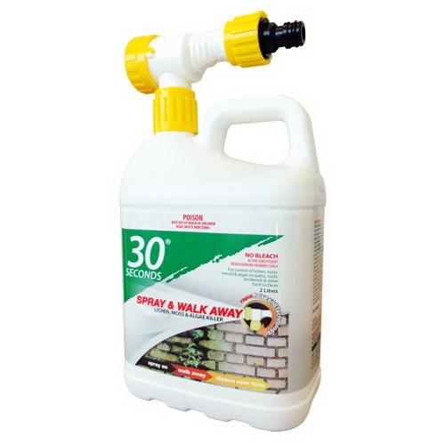 One Step Spray & Walk Away Hose On Outdoor Cleaner 2L 09662