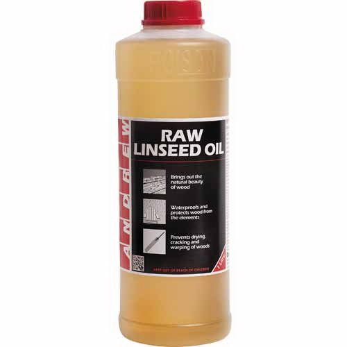 Raw Linseed Oil 1L