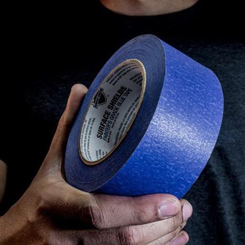 Surface Shields Builder Board Surfaceshields Painters Masking Tape 55m x 72mm Blue BLDBT3180C