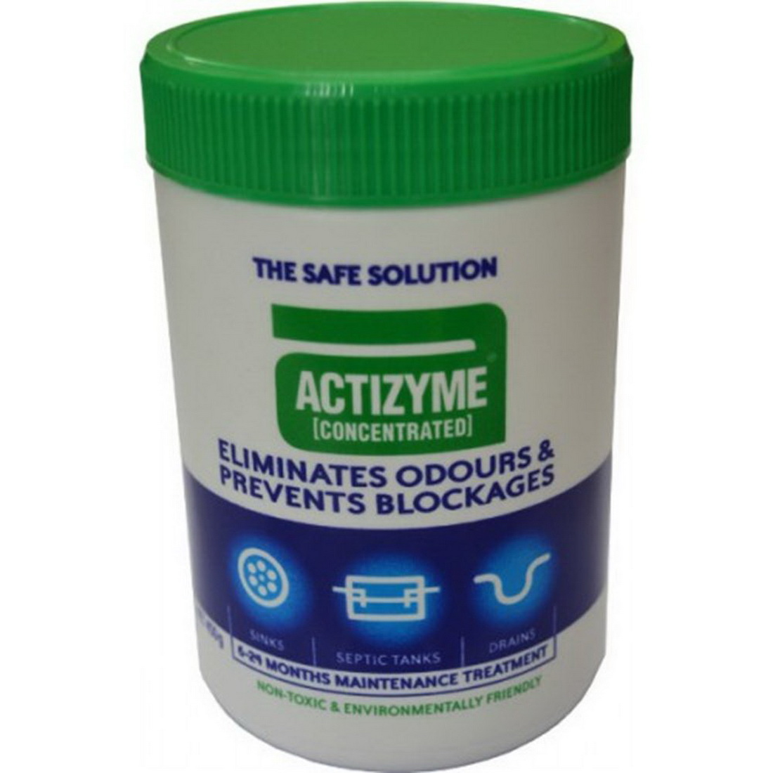 Actizyme 450g Concentrated Drain Cleaner & Odour Eliminator