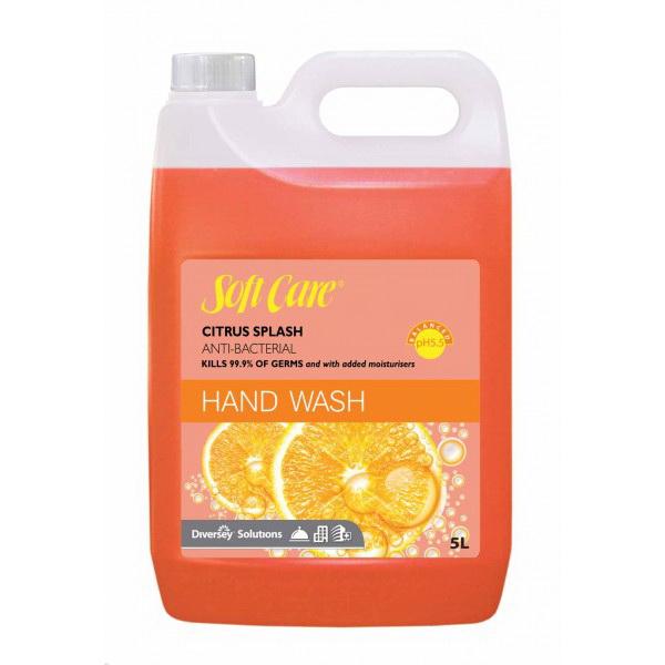SOFTCARE Anti-Bacterial Hand Wash Citrus Splash 5L