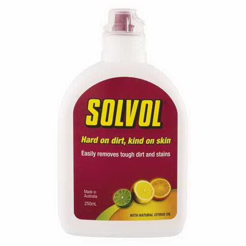 Solvol Liquid Hand Cleaner 250mL Pump Citrus 71225