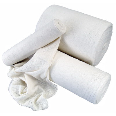 2.5kg Roll Pre-Washed Stockinette/Mutton Cloth Cotton