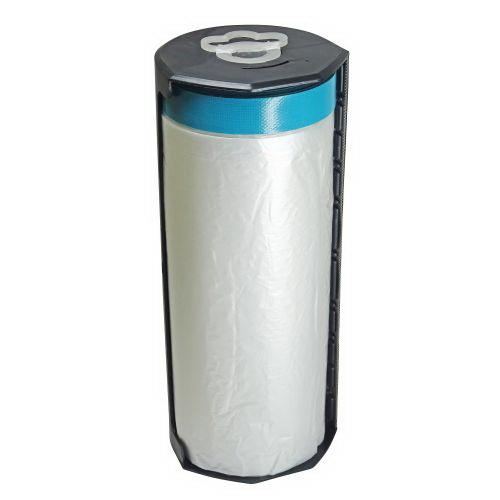 Cloth Pre-Tapered Masking Film Dispenser 2.7 x 15m CQCT270/15D