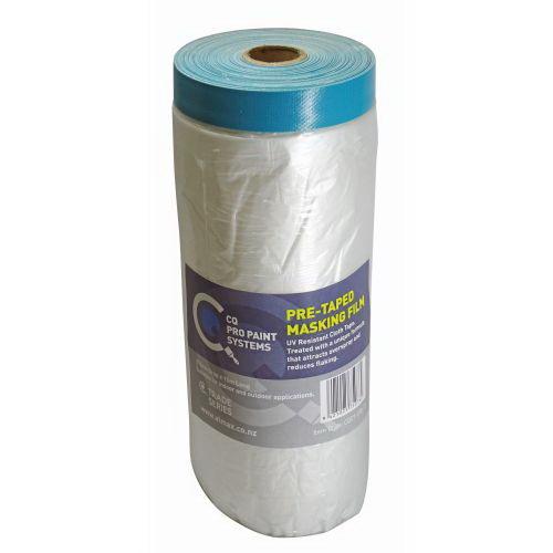CQ 15m x 360cm Pre-Taped Masking Film Cloth