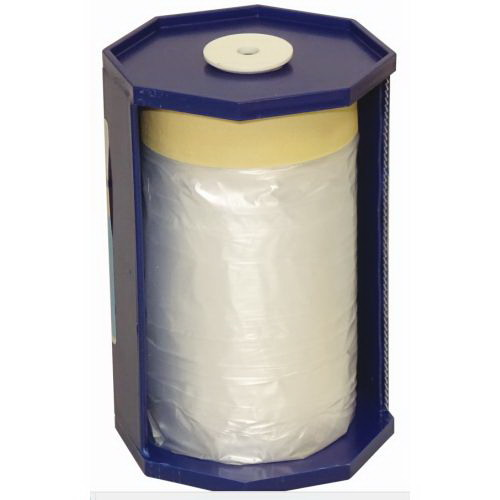 CQ 55cm x 20m Pre-Taped Masking Film with Dispenser