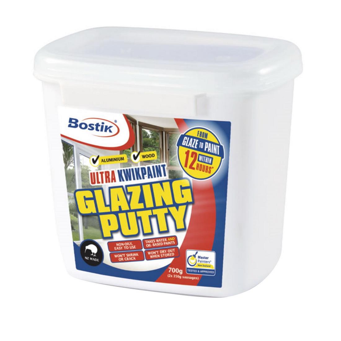 700g Ultra Kwikpaint Glazing Putty