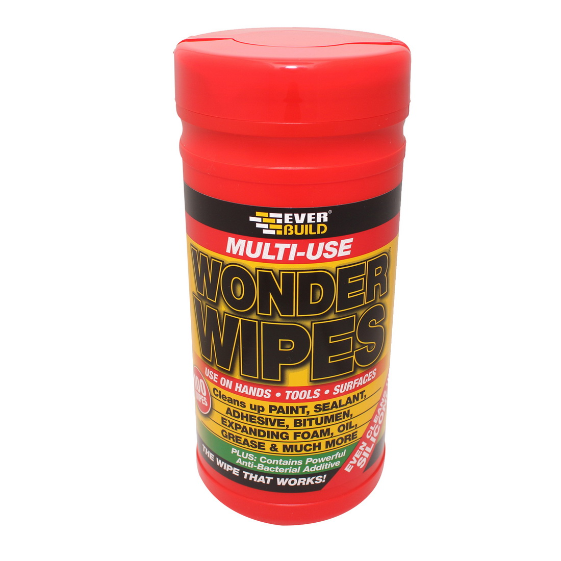 EVERBUILD WONDER WIPES Multi-Use Wonder Wipes 100 pack