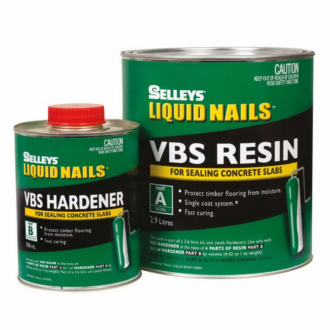 Liquid Nails 3.6L VBS Vapour Barrier Kit For Sealing Concrete Slabs