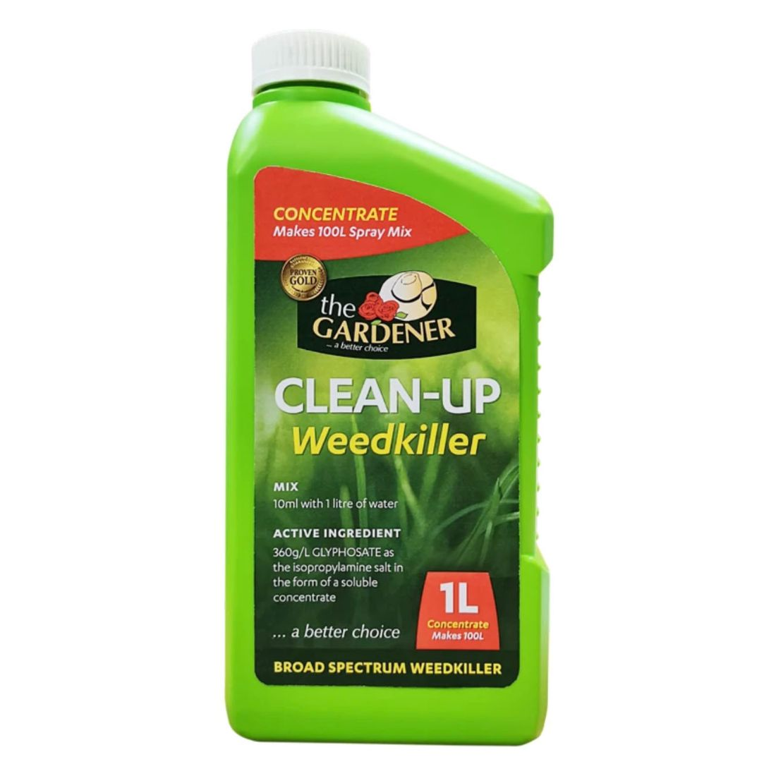 Weedkiller Glyphosate Concentrate 1L
