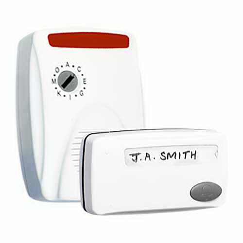 Visichime 30m IP65 White Wireless Door Chime