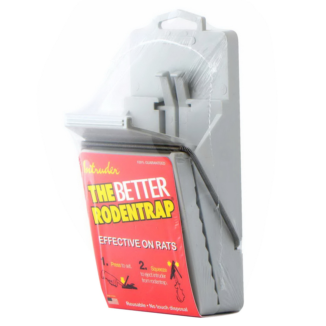 Intruder The Better Mouse Trap Plastic Grey RAT