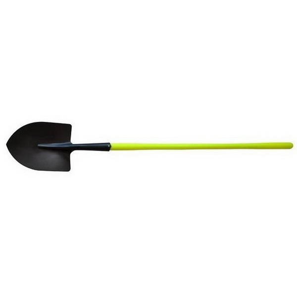 RM No 2 Round Mouth Fibreglass Long Handle Shovel
