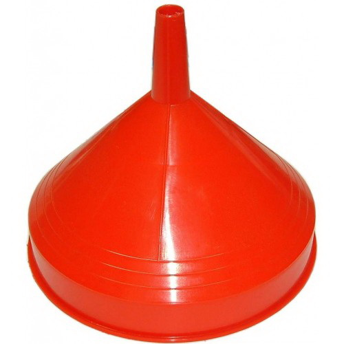 Medium Funnel Straight With Lip 165mm Plastic