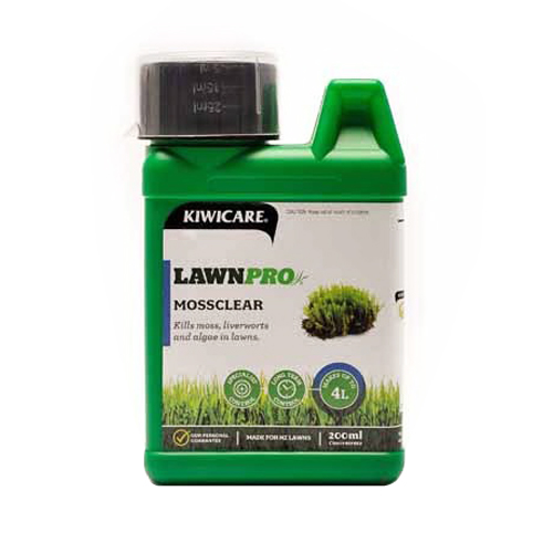 Lawnpro Mossclear Concentrate Weed Control 200ml Green G43126