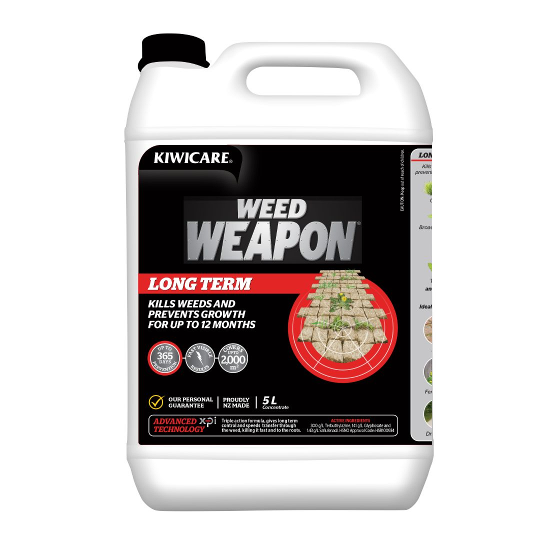 Weed Weapon Long Term Concentrate Weed Control 5L