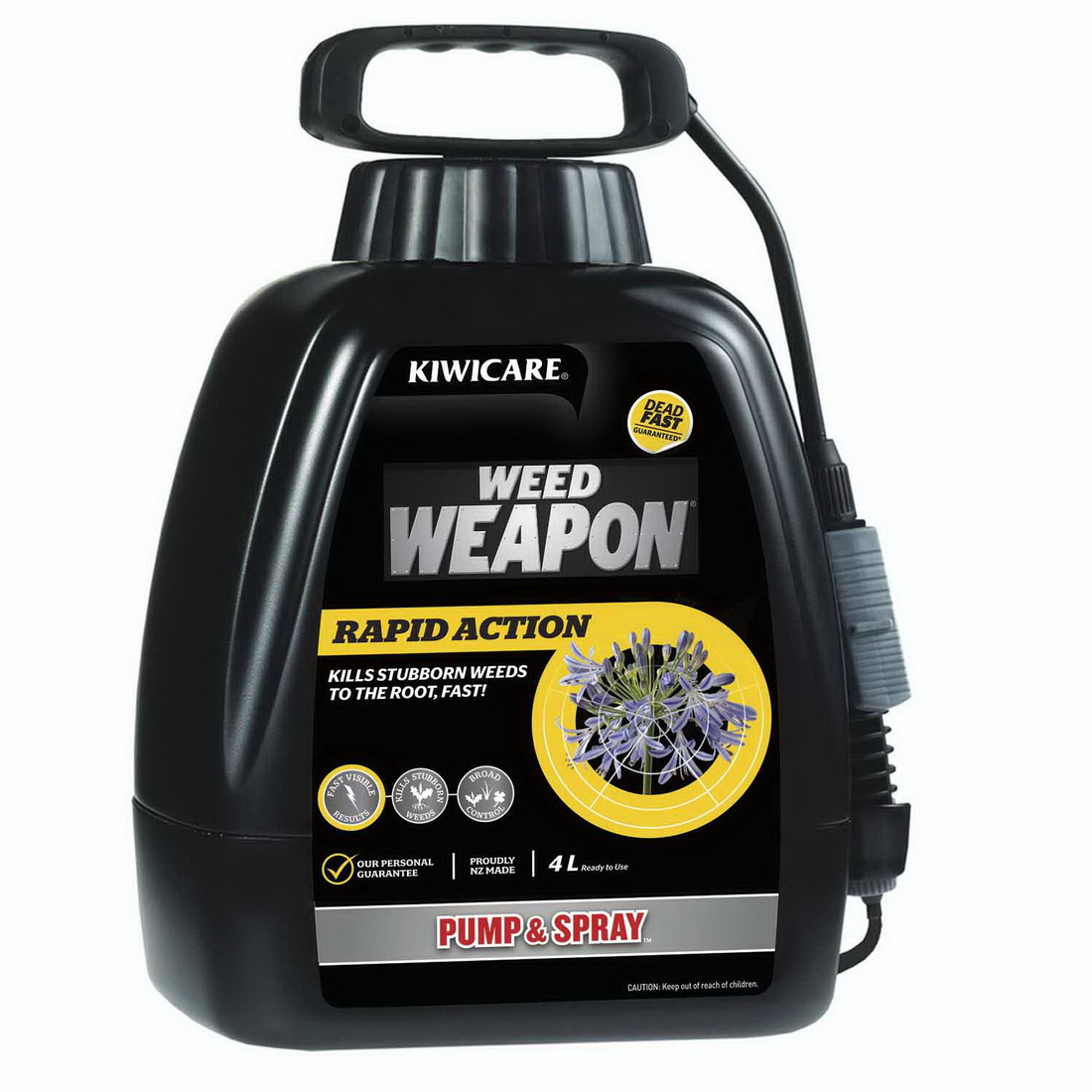 Weed Weapon Rapid Action Pump & Spray Weed Control 4L