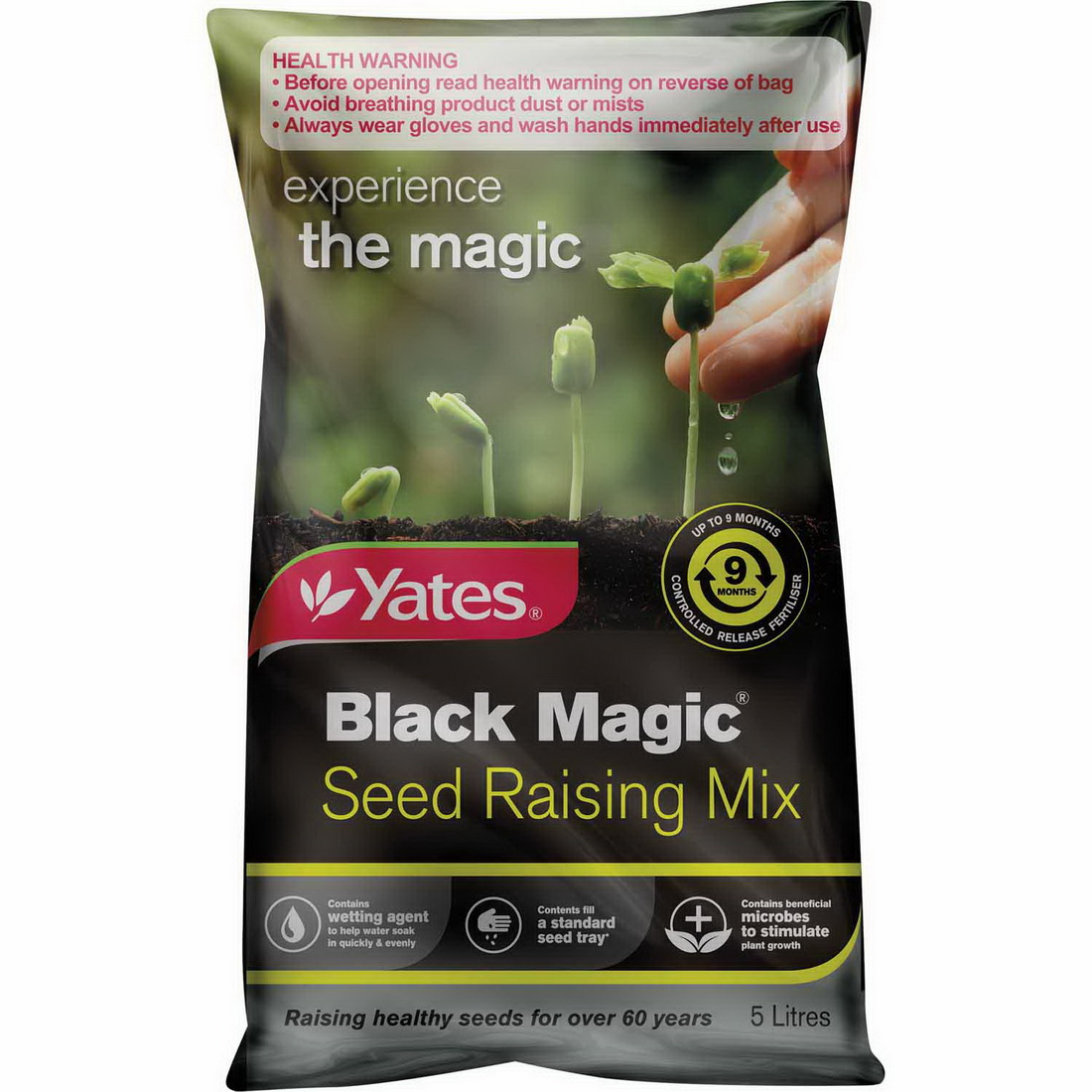 Black Magic 5L Seed Raising Mix