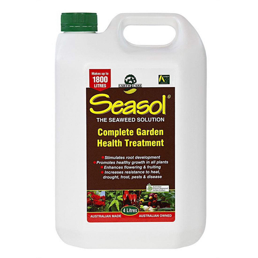Tui Seasol Liquid Fertilizer 4 L Dark Brown SEA4