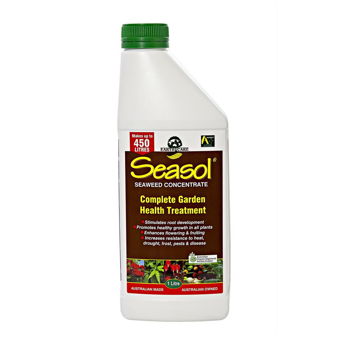 Organic Liquid Fertilizer 1L Dark Brown SEA1