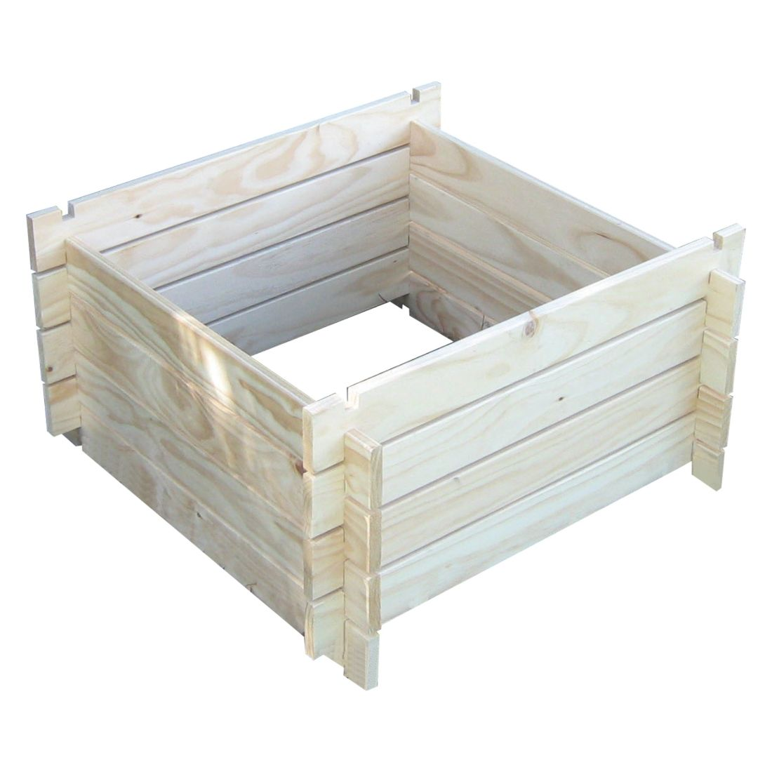 Kitset Wooden Compost Bin 800 x 800mm