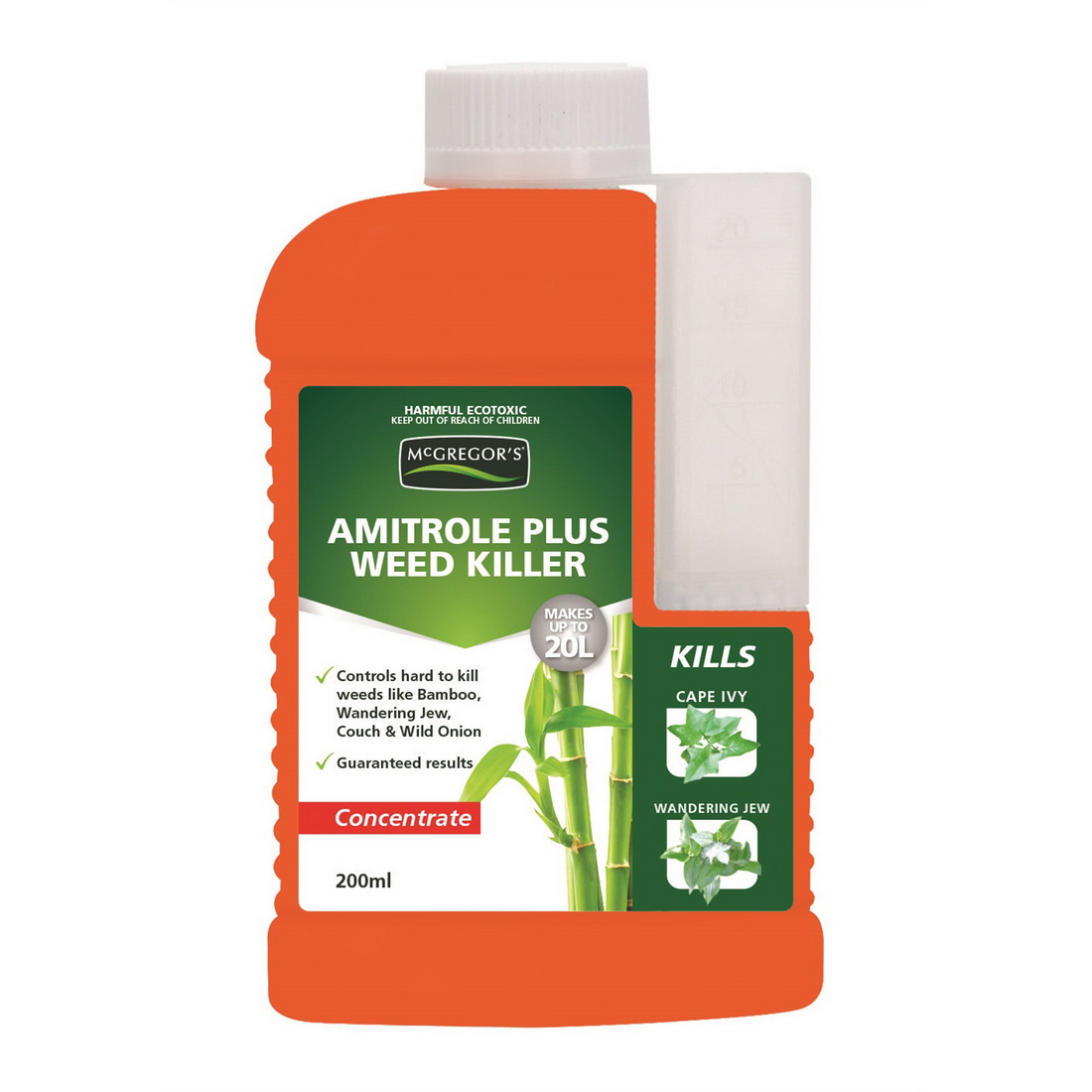 Weed Out 200ml Concentrate Amitrole Plus Weed Killer