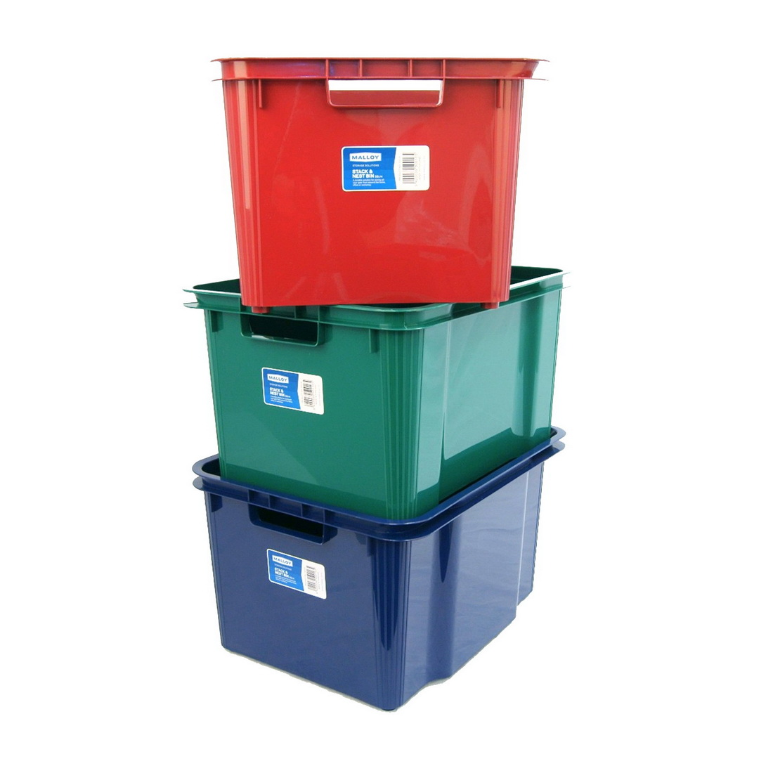 Stack and Nest Bin 32L Assorted S0016