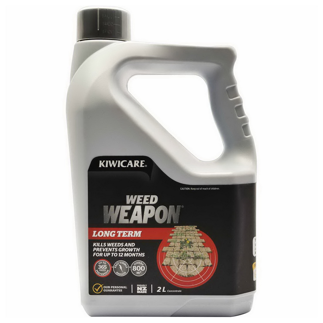 Weed Weapon Long Term Concentrate Weed Control 250 mL x Pale White G21450