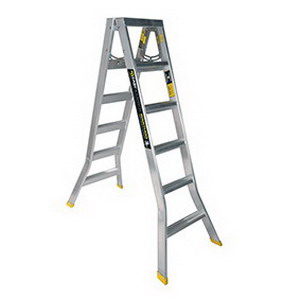 Warthog Double Sided Ladder 1.8m