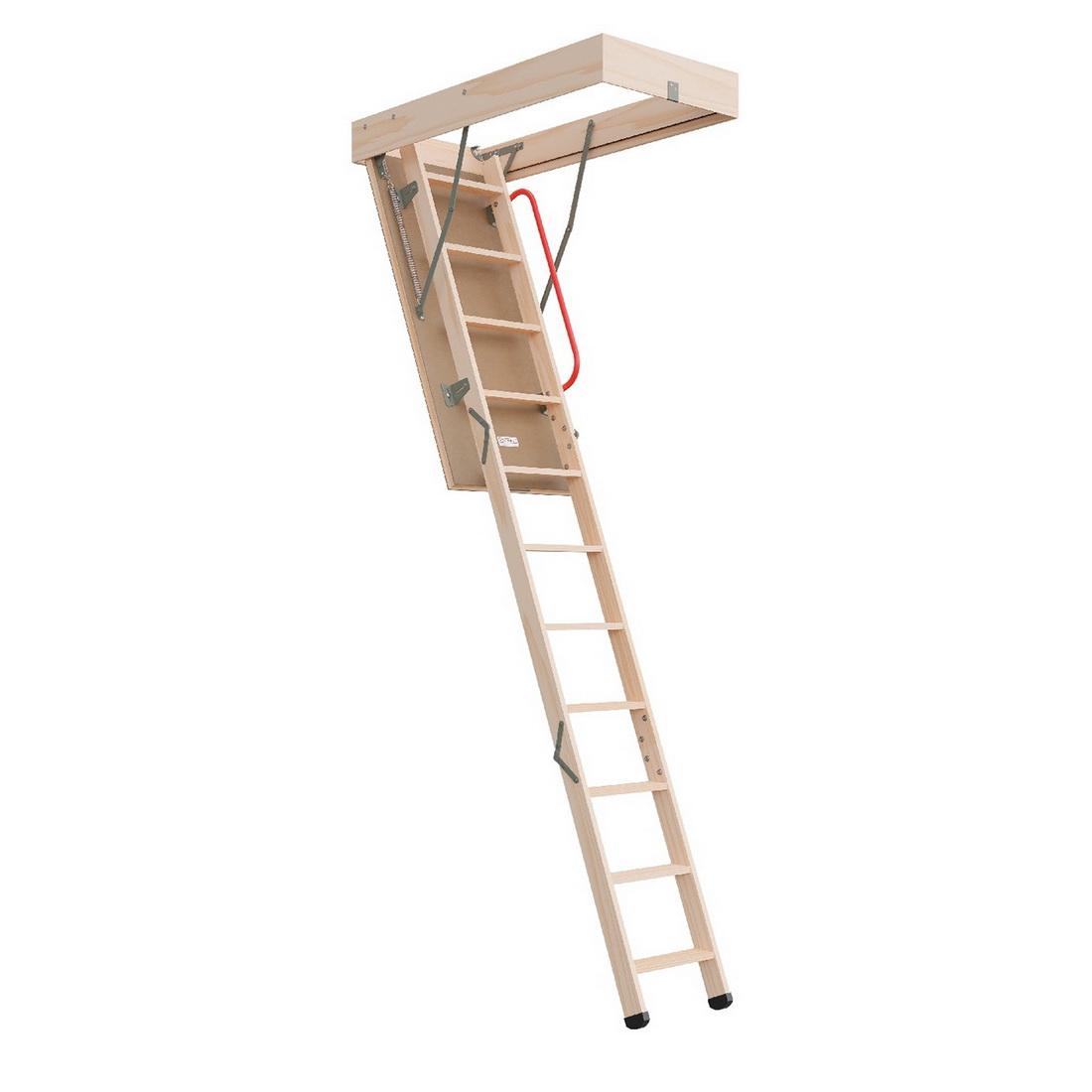 Economy Range 2250-3050mm Timber Attic Ladder