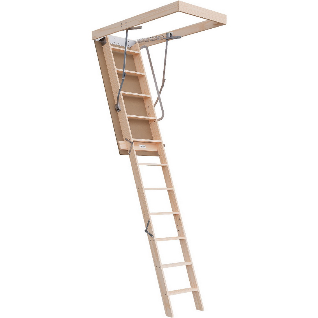 Regular Range 2750-3100mm Attic Ladder Timber