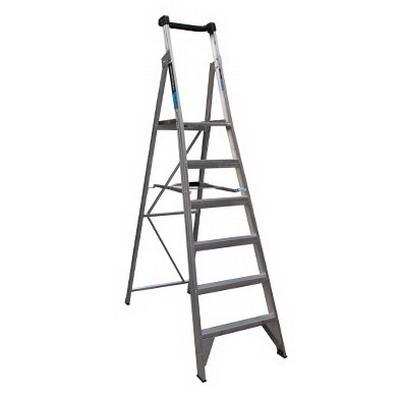 150kg Trade 6-Step Platform Ladder 1.8m