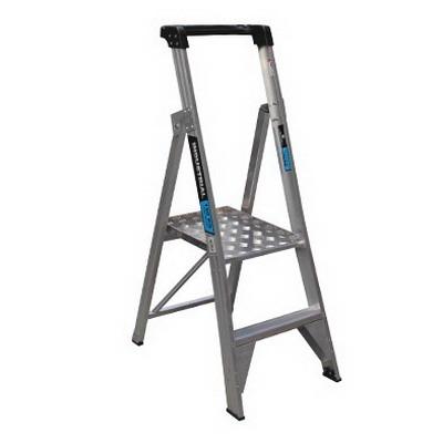 Trade Series 0.6m Platform Ladder 2 Step 180kg