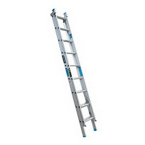 Trade Series 150kg Heavy Duty 9-Step Extension Ladder 2.9-4.7m