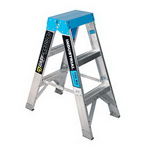 Trade Series Double Sided Ladder 3 Step 180kg