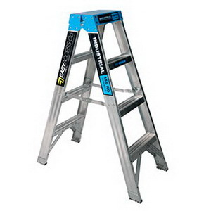 Trade Series Double Sided Ladder 4 Step 180kg