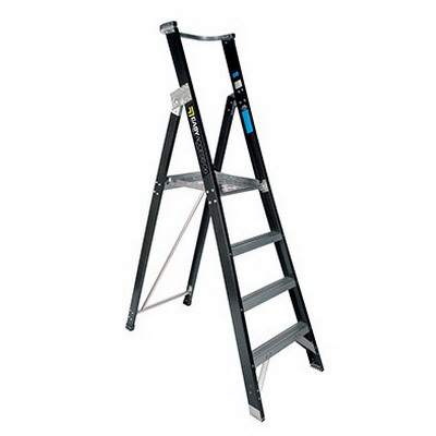 Trade Series Fibreglass 4 Step 1.2m Platform Ladder 150kg