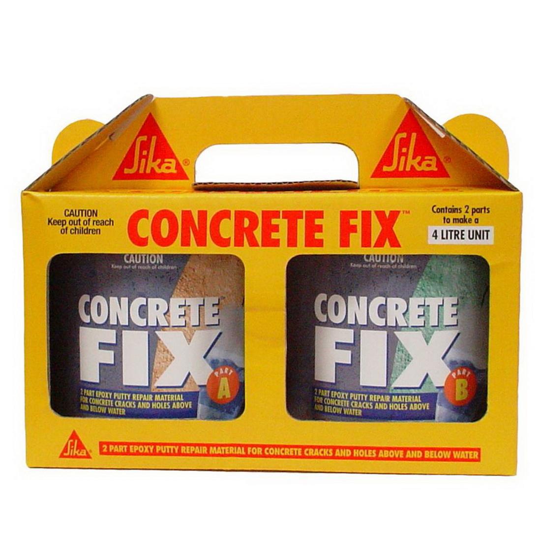 Sikadur UA 4L Concrete Fix Grey