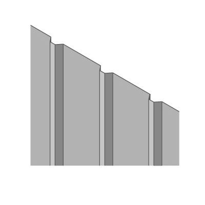 Steel Sheet Panel 1.5 x 0.78m
