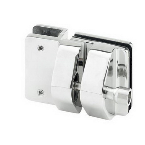 Glass-To-Glass Latch Kit Stainless Steel