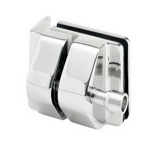 Glass-To-Wall/Square Post Latch Kit Stainless Steel