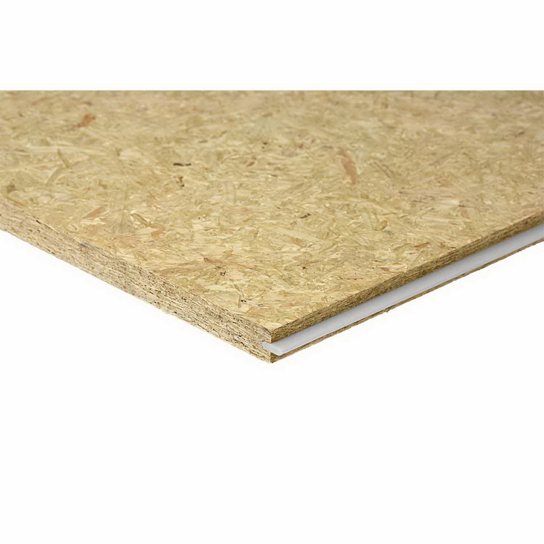 Laminex Strandfloor High density Reconstituted Tongue & Groove Wood Panel 2400 x 1200 x 20mm Untreated 8519982