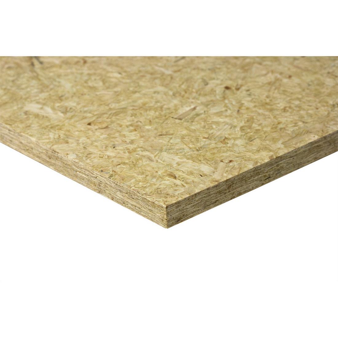 Laminex Strandfloor Square Edge Wood Panel 2400 x 1200 x 20mm Untreated 8519981