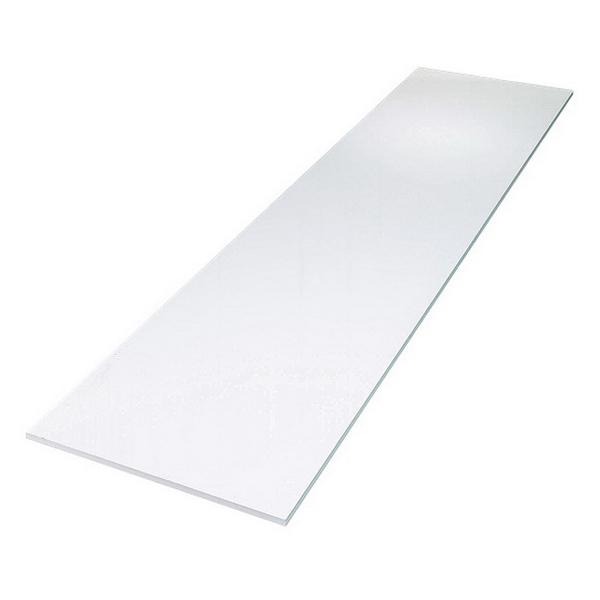 Sims Element Panel 2400 x 600 x 16mm Melamine White 2460P