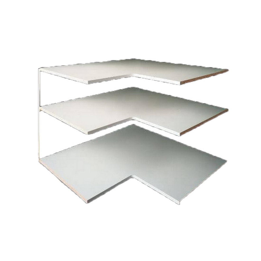 Laminex Whiteboard MDF Panel 2440 x 1220 x 16 mm Satin 872415